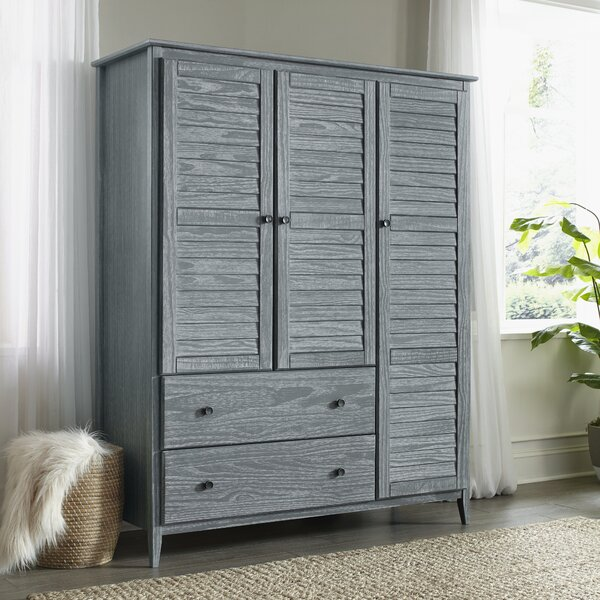 Greenport 3 Door Armoire by Grain Wood Furniture
