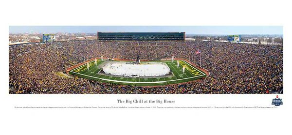 NCAA The Big Chill at The Big House by James Blakeway Photographic Print by Blakeway Worldwide Panoramas, Inc
