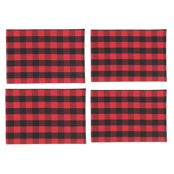 Tarragon Buffalo Check Placemat by Loon Peak