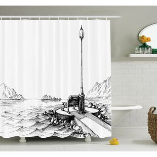 Affordable Sun Moon Vintage Shower Curtain Set By Ambesonne