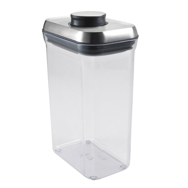 SteeL Rectangle Pop 80 Oz. Food Storage Container by OXO