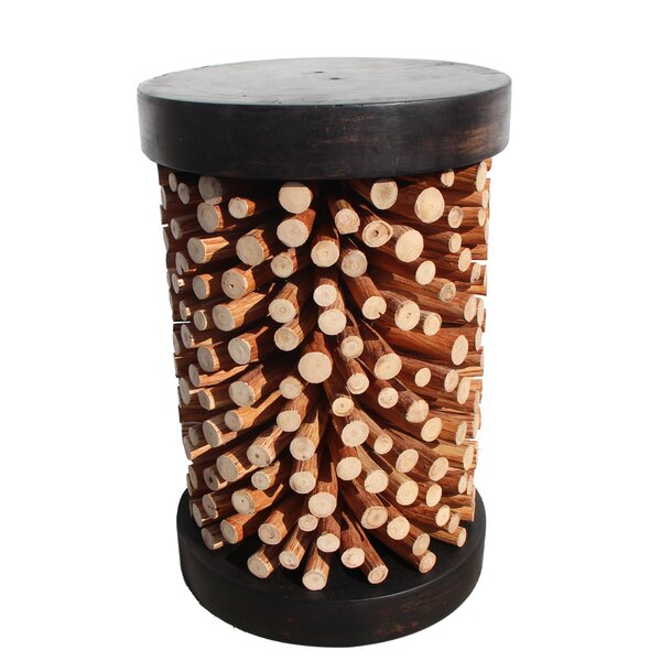 Exotic Wood Joey Stool by Asian Art Imports
