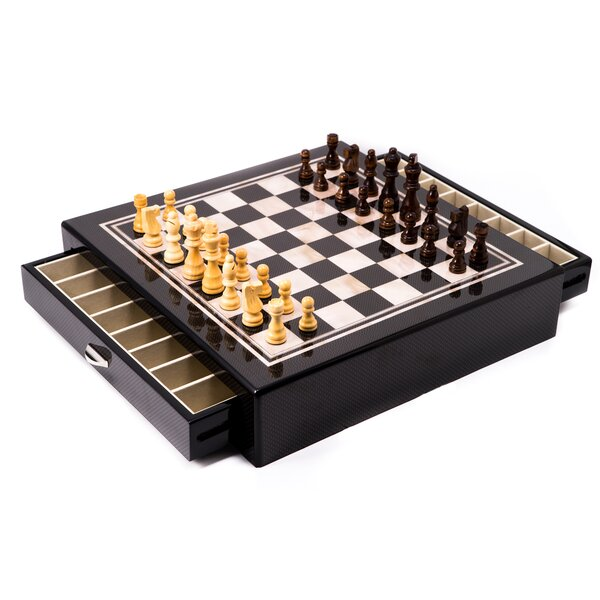 13.25 Bey-Berk Chess Table by Bey-Berk