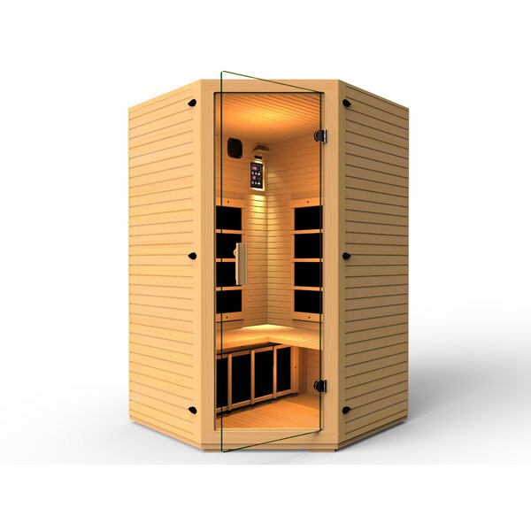 Vivo 3 Person FAR Infrared Sauna by JNH Lifestyles