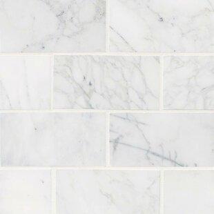 white tile floor. Plain White Calacatta Cressa Honed 3 For White Tile Floor