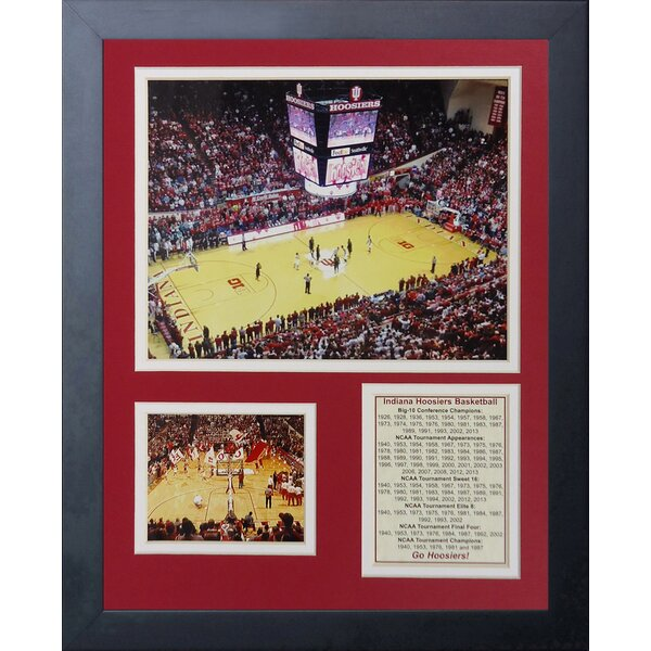 University of Indiana Assembly Hall Framed Memorabilia by Legends Never Die