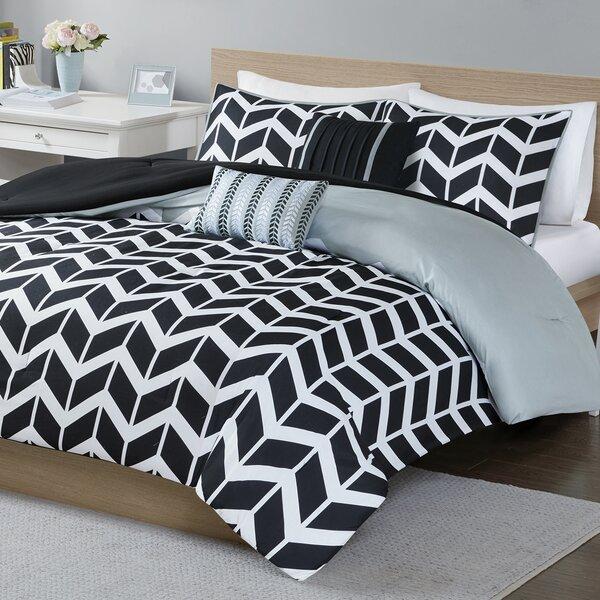 Borchert Reversible Comforter Set by Zipcode Design