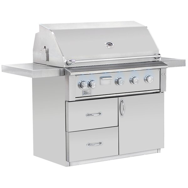 Alturi Propane Gas Grill with Smoker by Summerset Professional Grills