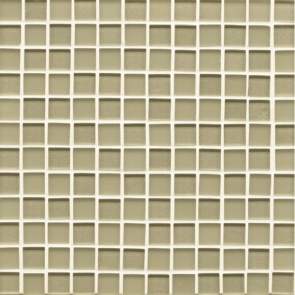 Remy Glass 0.94 x 0.94 Glass Mosaic Tile in Meadow by Grayson Martin