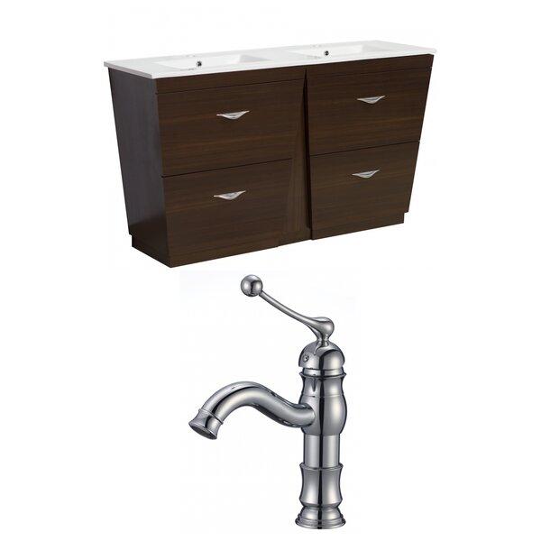 Vee 60 Double Bathroom Vanity Set by American Imaginations