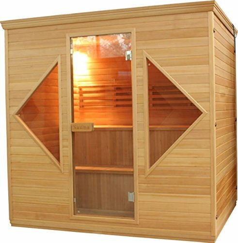 6 Person Steam (traditional) Sauna by ALEKO