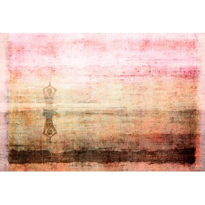 'Yoga' by Parvez Taj Painting Print on Wrapped Canvas by World Menagerie