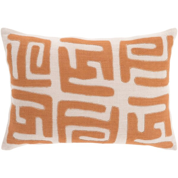 Alona Graphic Print Down Lumbar Pillow by Bloomsbury Market