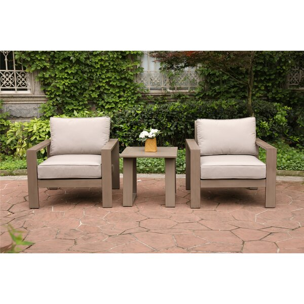 Otega 3 Piece Conversation Set with Cushions by Orren Ellis