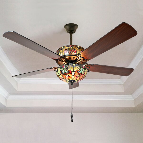 52 5-Blade Ceiling Fan with Remote by River of Goo