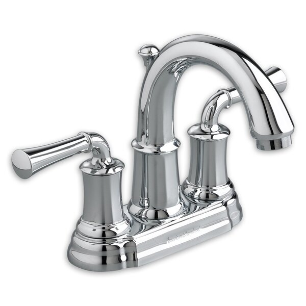 Portsmouth Centerset Bathroom Faucet with Drain Assembly by American Standard