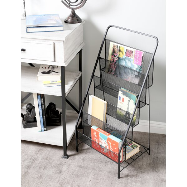 Industrial 5-Tiered Magazine Rack by Cole & Grey