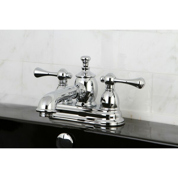 Vintage Centerset Bathroom Faucet With Drain Assembly By Kingston Brass