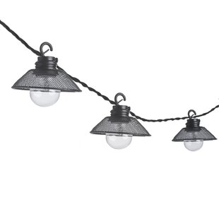 Affordable Round 10-Light 10.5 ft. Lantern String Lights By Paradise Garden Lighting