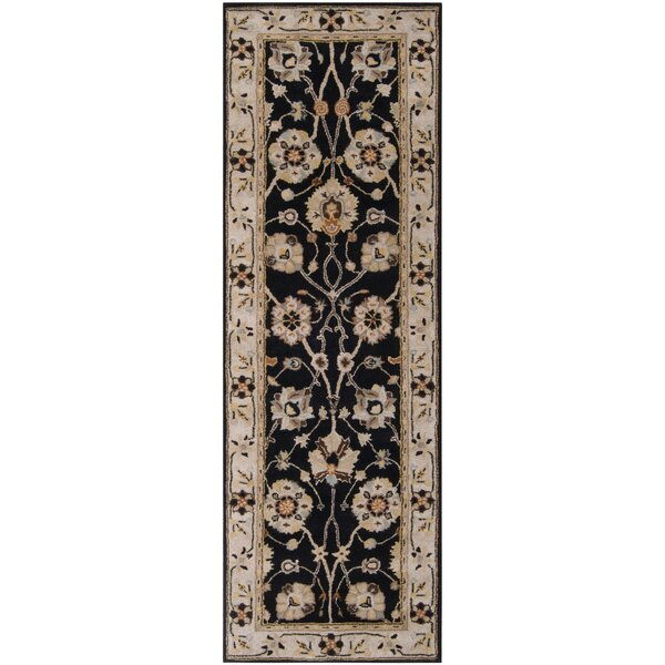 Topaz Hand-Tufted Wool Beige Area Rug by World Menagerie