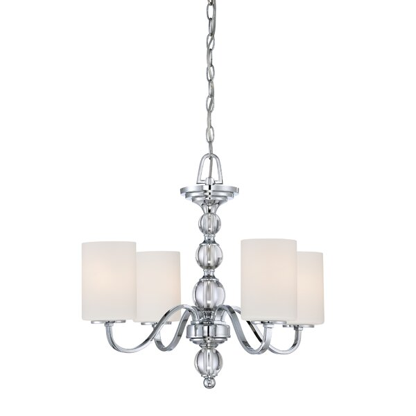 Christena 4 - Light Shaded Classic / Traditional Chandelier By House Of Hampton