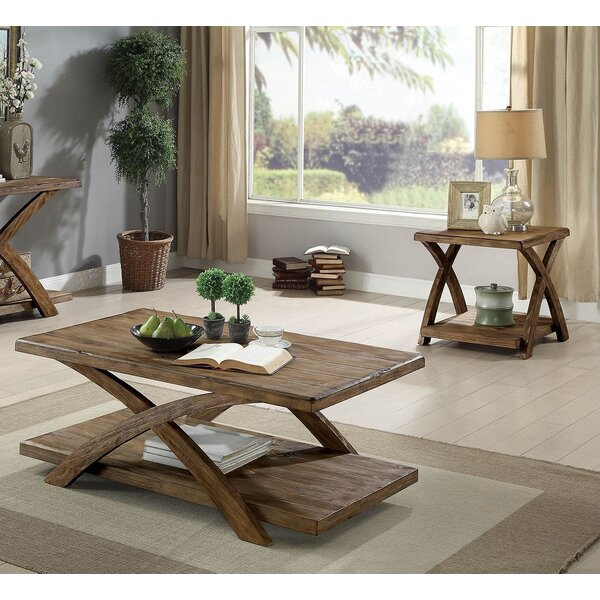 Alijah 3 Piece Coffee Table Set by Loon Peak Loon Peak