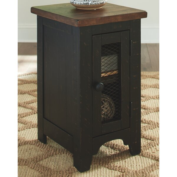 Dunkley End Table With Storage By Millwood Pines