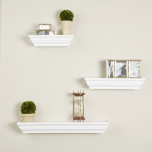 3 Piece Madison Wall Shelf Set