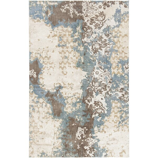 Rodericks Hand-Knotted Wool Area Rug by Bungalow Rose