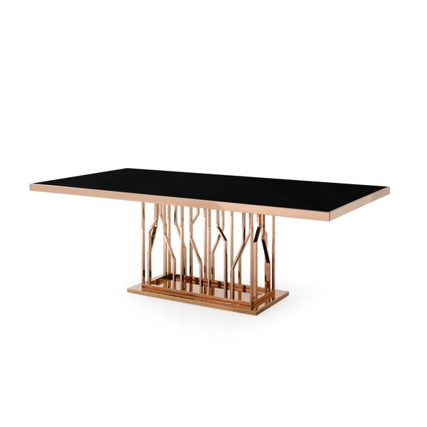 Altus Modern Dining Table By Everly Quinn