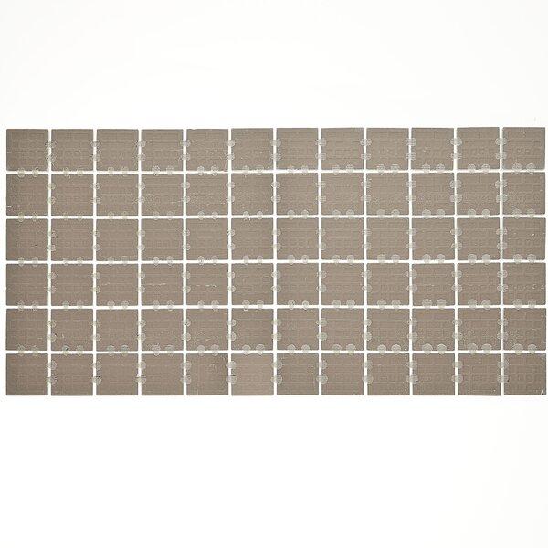 Slate Attaché 12 x 24 Porcelain Mosaic Tile in Meta Beige by Daltile