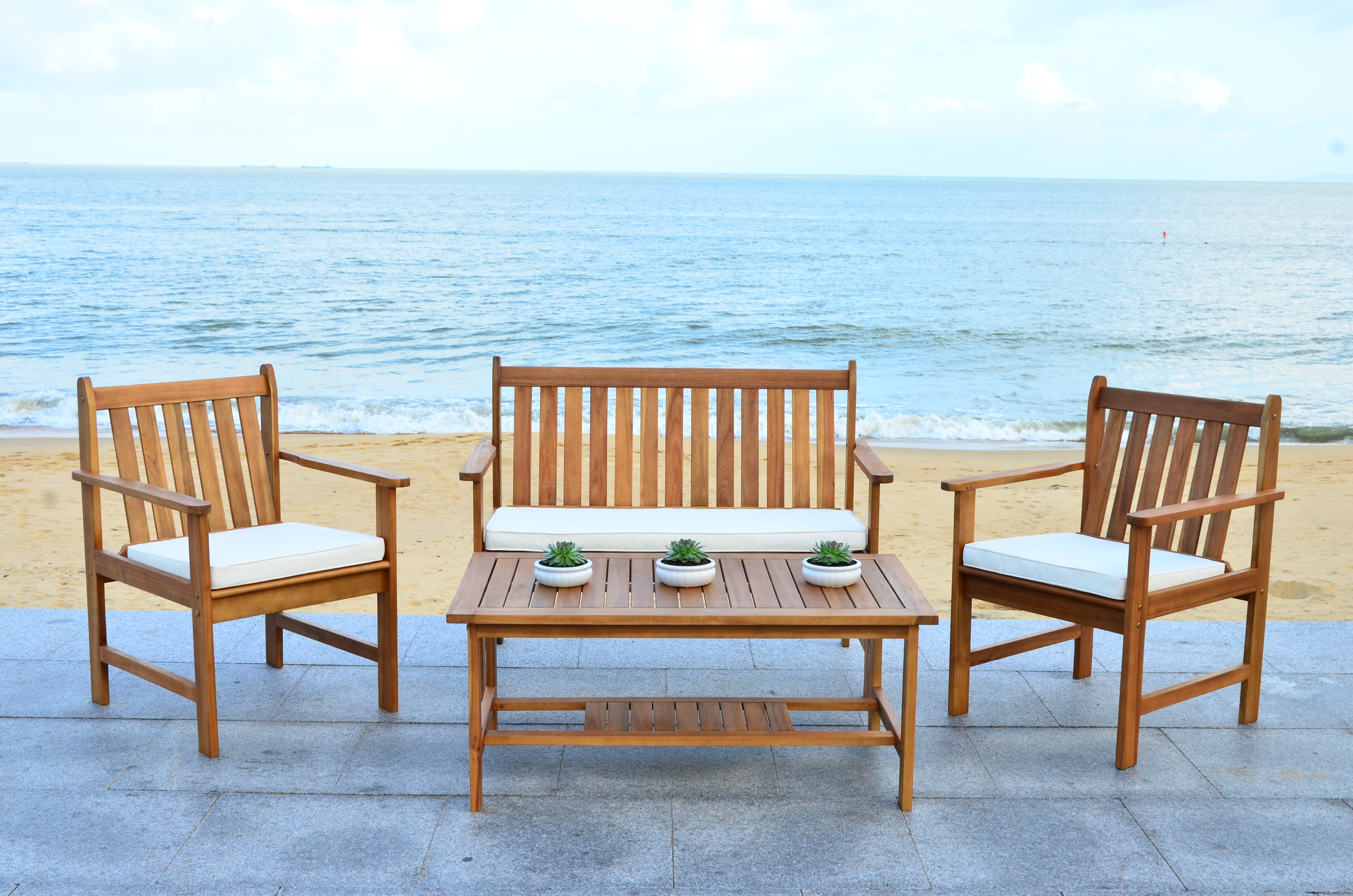 Astonishing Joliet 4 Piece Loveseat Seating Group With Cushions Spiritservingveterans Wood Chair Design Ideas Spiritservingveteransorg