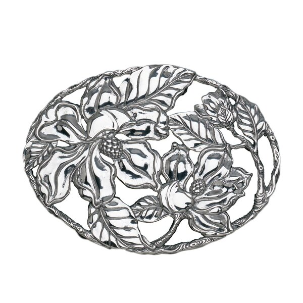 Magnolia Trivet by Arthur Court Designs