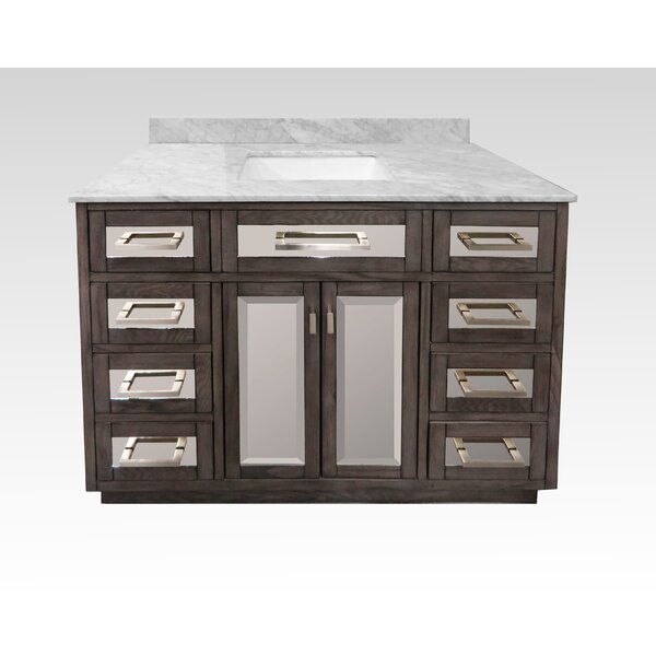 Degraff 48 Wood Base Single Bathroom Vanity Set by Latitude Run