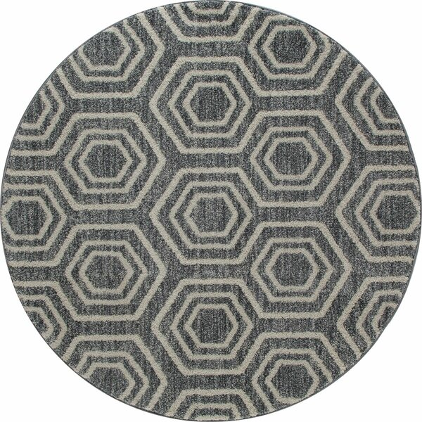 Whiddon Gray Area Rug by George Oliver