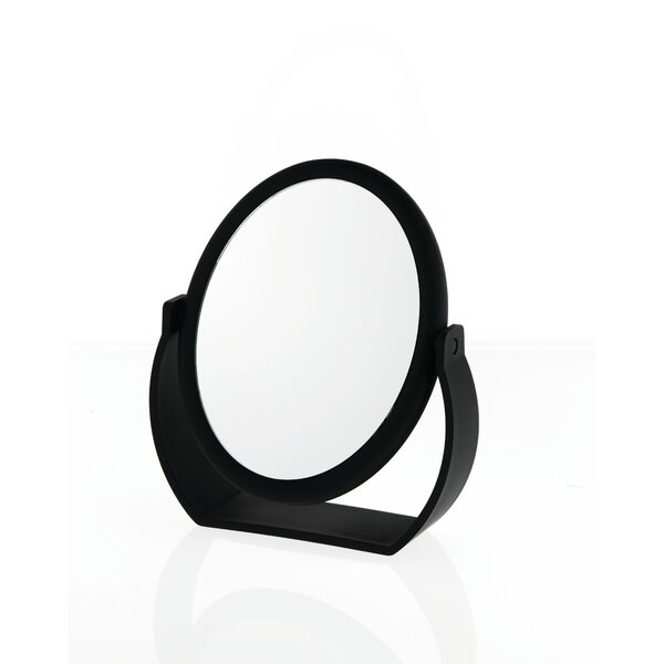 Midnight Matte Oval Vanity Mirror by Danielle Creations