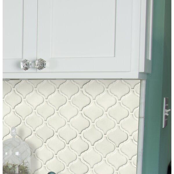 Bianco Arabesque Ceramic Mosaic Tile
