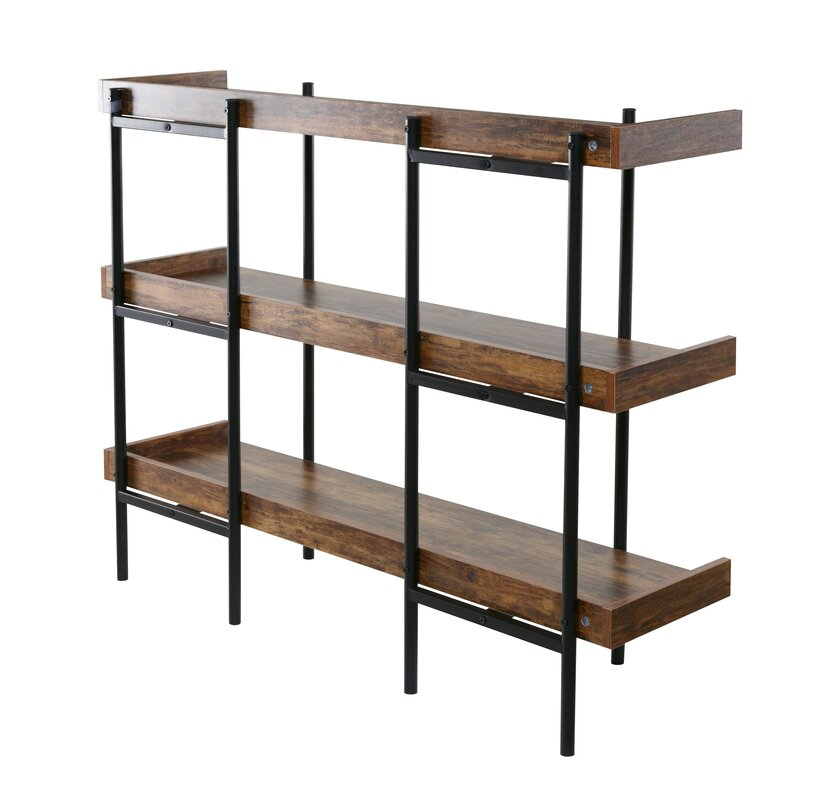 gracie oaks calona modern etagere bookcase reviews wayfair. Black Bedroom Furniture Sets. Home Design Ideas