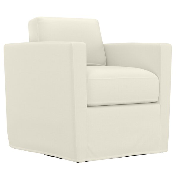 Krogman Swivel Club Chair by Latitude Run