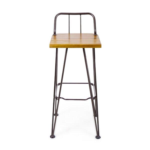 Loya 30 Patio Bar Stool (Set of 2) by Union Rustic