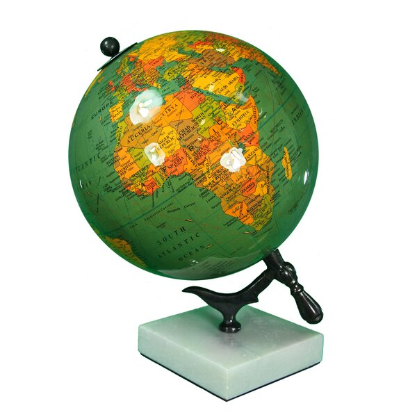 Enamel Globe by Charlton Home