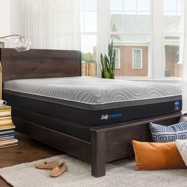 Hybrid™ Performance Kelburn ll 13 Firm Mattress and 5 Box Spring by Sealy
