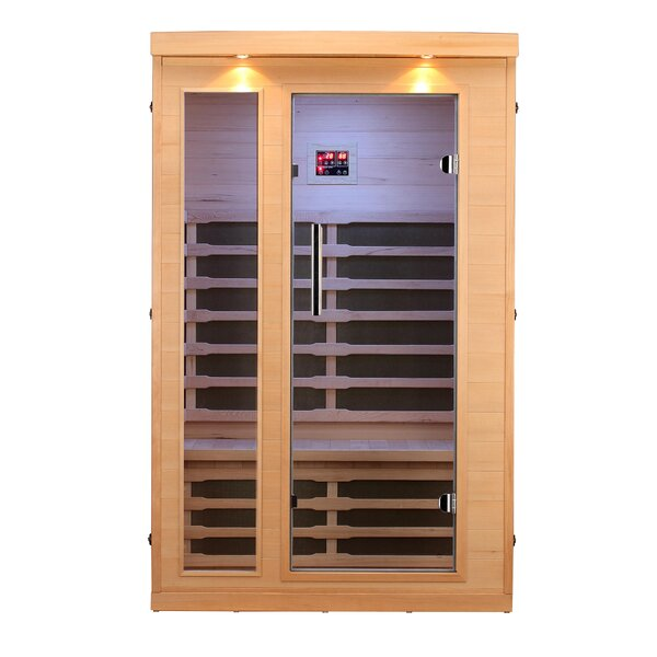 2 Person FAR Infrared Sauna by Canadian Spa Co