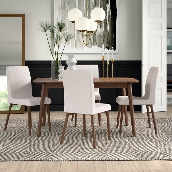 Liles 5 Piece Dining Set by Mercury Row
