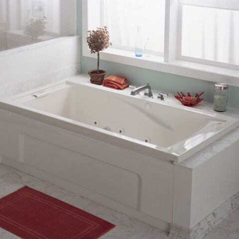 Evolution 60 x 36 Undermount Air Bathtub by American Standard