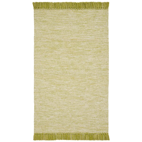 Boevange-sur-Attert Hand Woven Cotton Olive Area Rug by Bungalow Rose