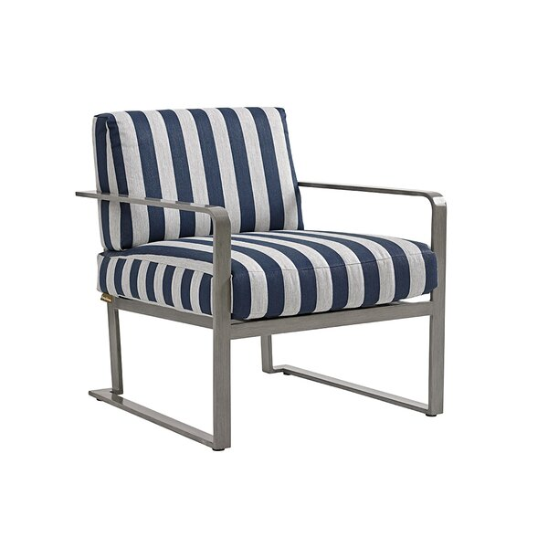 Del Mar Patio Chair with Cushion by Tommy Bahama Outdoor