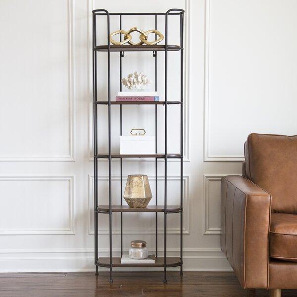 Wilhelmina Etagere Bookcase by Winston Porter