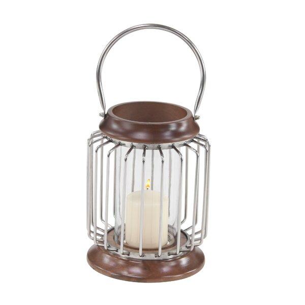 Osterley Wood Lantern by Gracie Oaks