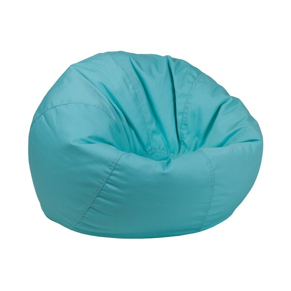 Solid Kids Bean Bag Chair by Harriet Bee